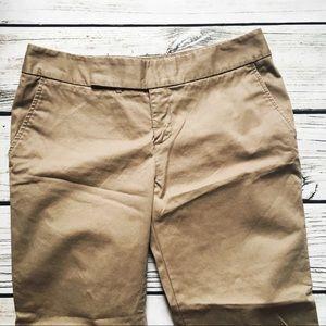 Eddie Bauer • Vashon Fit Cocoa Cropped Pants 8P